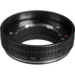 FotodioX Adapter for Contax G Lens to Sony NEX Mount Camera