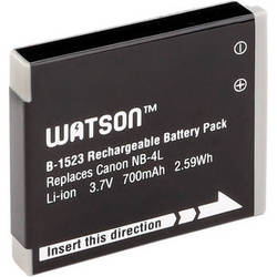 Watson NB-4L Lithium-Ion Battery Pack (3.7V, 700mAh)