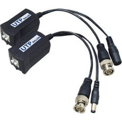 UTP Balun VPB110TK Passive Video Balun Kit with Power Connector