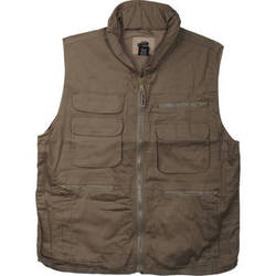 Humvee by CampCo Ranger Vest - Small (Khaki)