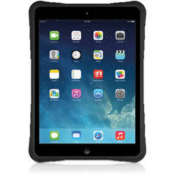 Macally Hardshell Case with Flexible Grip for iPad Air (Black)