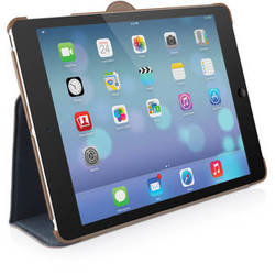 Macally Protective Case & Stand for iPad Air (Blue)
