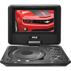 "Pyle Home Pyle Home 7"" Portable DVD Player"