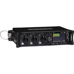 Sound Devices 633 6-Input Compact Field Mixer and 10-Track Digital Recorder