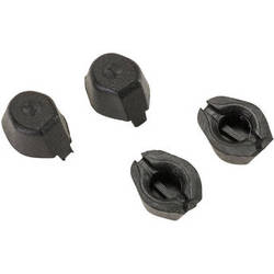 HUBSAN Replacement Rubber Feet for X4 H107A Quadcopter (Black)