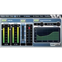 Wave Arts FinalPlug Mastering Peak Limiter and Volume Maximizer Plug-In AAX DSP