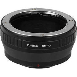 FotodioX Olympus OM Pro Lens Adapter for Fujifilm X-Mount Cameras