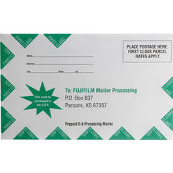 Fujifilm Slide Processing Mailer for One 35mm or 120 Roll of Film