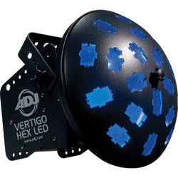 American DJ Vertigo HEX LED - Rotating Moonflower Light