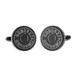 Cuffs NY Camera Dial Cufflinks