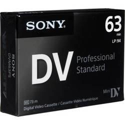 Sony Mini DV Professional Standard Digital Video Cassette (63 min)