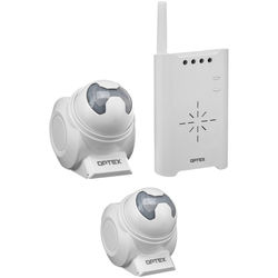Optex Wireless 2000 Driveway/Entry Annunciator & Sensor Kit