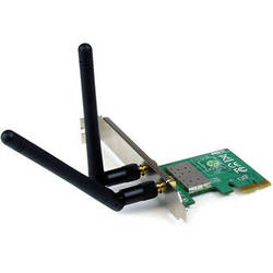 StarTech 300 Mb/s PCIe 802.11 b/g/n Wireless Network Adapter