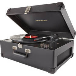 Crosley Radio CR6249A Keepsake USB Turntable (Black)