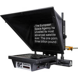 "Autocue/QTV MSP12 Master Series 12"" Prompter with Folding Hood & Case"