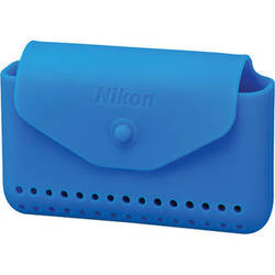 Nikon Silicone Case for COOLPIX AW100 and AW110 Digital Cameras (Blue)