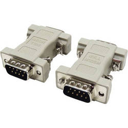 Tera Grand DB 9-Pin Male to Male Null Modem Adapter