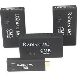 Camera Motion Research Radian MC - Multicast Wireless HDMI Set, 1 Transmitter, 3 x Receivers
