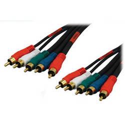 Tera Grand 5 RCA Male to 5 RCA Male Component Audio/Video Cable (12')