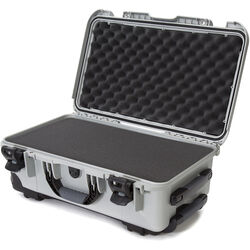 Nanuk Protective 935 Case with Foam (Silver)