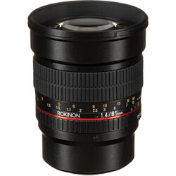Rokinon 85mm f/1.4 AS IF UMC Lens for Micro Four Thirds Mount