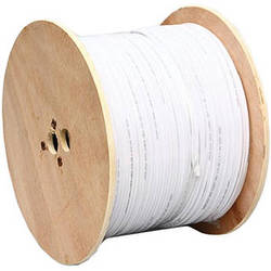 Winic Technologies 20AWG 95% Siamese Cable (1000', White)