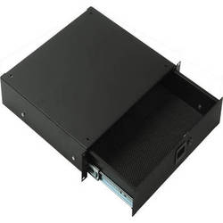 Middle Atlantic 4U Rack Drawer with Lock  TD4LK (Black Texture)