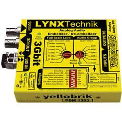 Lynx Technik AG yellobrik PDM 1383 Analog Audio Embedder / De-Embedder