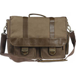 Kelly Moore Bag Thirst Relief Bag/ Wax Canvas with Sand Trim