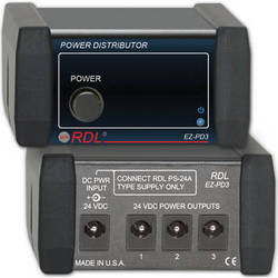 RDL EZ-PD3 Power Supply Distributor