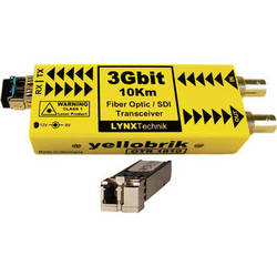 Lynx Technik AG yellobrik OTR 1810 3Gbit Multi-Mode Fiber Optic/SDI Transceiver