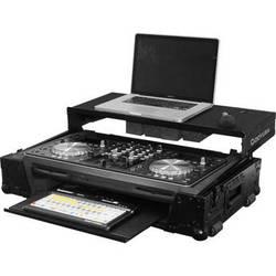 Odyssey Innovative Designs Black Label Pioneer XDJ-R1 Controller Glide Style Case with Bottom GT Glide Tray (Black)