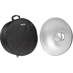 "Bowens 21"" Beauty Dish Reflector with Case (Silver)"