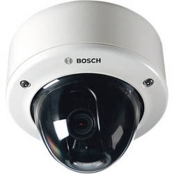 Bosch Flexidome Starlight HD NIN-733-V10PS 720p60 VR Indoor / Outdoor IP Dome Camera with 10 to 23mm SR Lens