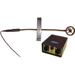 AMT Microphone for Acoustic Bass with Mount and Super Preamp