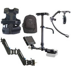 Steadicam Camera Stabilizer Kit with Merlin 2 and Pilot-AB System with Anton Bauer Mount