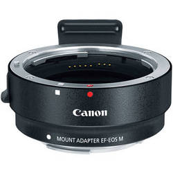 Canon EF-M Lens Adapter Kit for Canon EF / EF-S Lenses (White Box)