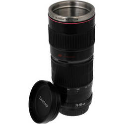 FotodioX LenZcup Replica Canon 70-200mm f/4L USM Lens Thermo Cup (Black)