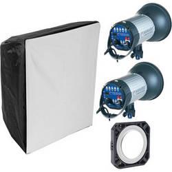 Hensel Integra 1000 Plus with FREEMASK 2-Light Kit