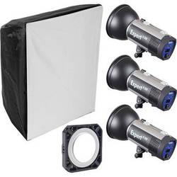 Hensel Expert D1500 3-Light Kit with Chimera Softbox