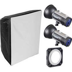 Hensel Expert D1000 2-Light Kit with Chimera Softbox