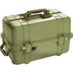 Pelican 1460NF Case without Foam (Olive Drab Green)