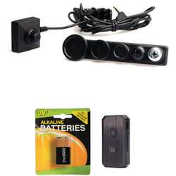 KJB Security Products CCD Color Button Camera Kit