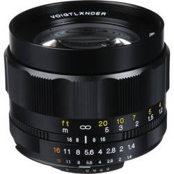 Voigtlander Nokton 58mm f/1.4 SL-II N Manual Focus Lens for Nikon AIS