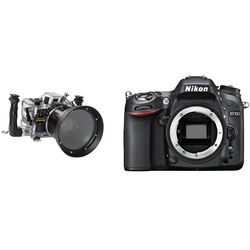 Nimar Underwater Housing with Nikon D7100 DSLR Camera Body Kit