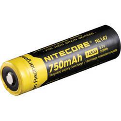 Nitecore 14500 Li-Ion Rechargeable Battery (3.7V, 750mAh)
