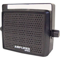Speco Technologies AES4 10W Amplified Deluxe Professional Communications Speaker