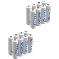Sanyo Eneloop AA Rechargeable Ni-MH Batteries (1900mAh, Pack of 16)