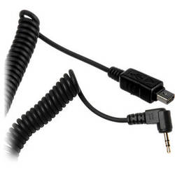 Impact PowerSync 3.5mm Camera Release Cable for Select Olympus Cameras