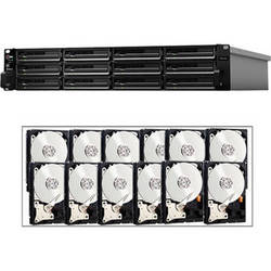 Synology 36TB (12 x 3TB) Synology Rackstation RS3614XS+ 12-Bay NAS Server Kit with Drives